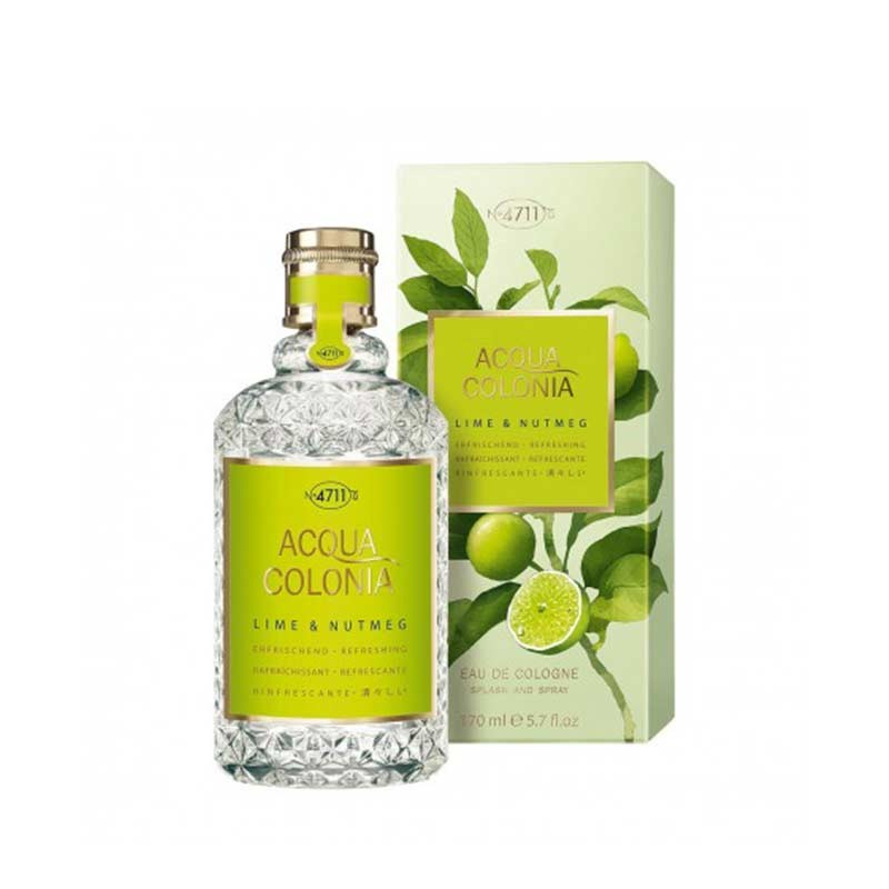 4711 Acqua Colonia Lime & Nutmeg 170ml