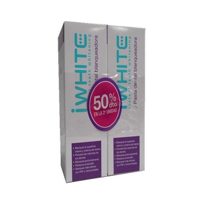 IWhite Dentífrico Dental Blanqueador x2 unidades