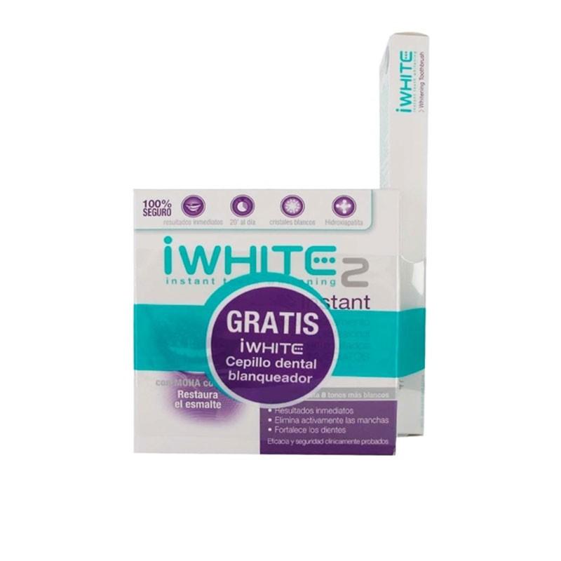 IWhite Kit de Blanqueamiento Dental con Gel Activo + Cepillo dental blanqueador