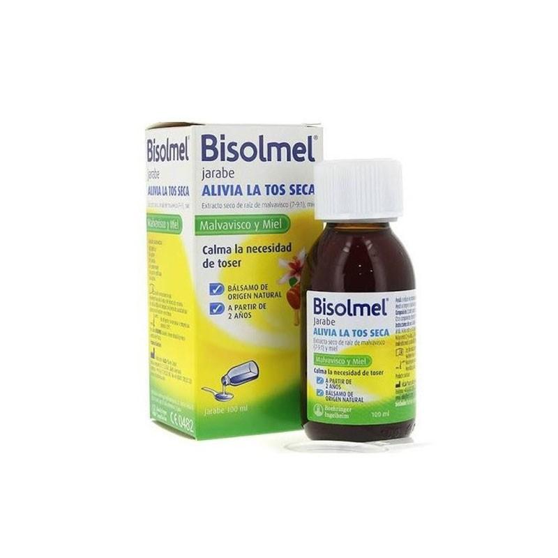 Bisolmel jarabe de malvavisco y miel para la tos seca 100 ml