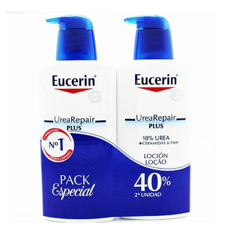 Comprar Eucerin Urea Repair Plus Loción con Ceramidas 400ml Pack 2 unidades