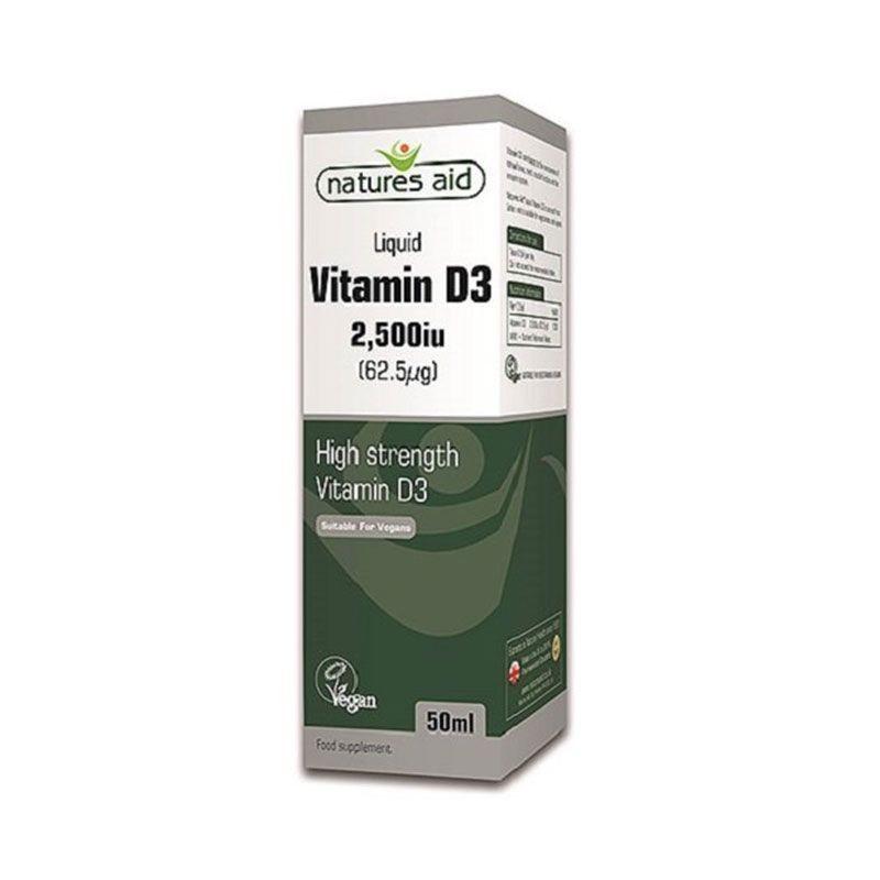 Natures Aid Vitmina D3 2.500iu 50 ml