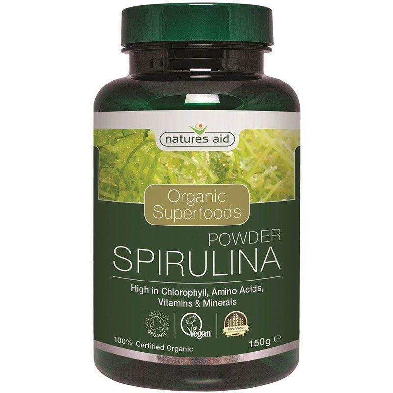 Natures Aid Spirulina en Polvo 150 gr