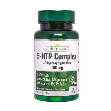 Natures Aid 5HTP Complex 30 tabletas