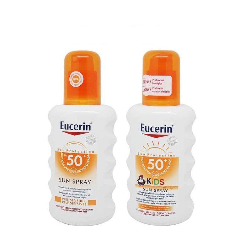 Eucerin Sun Protection SPF50 Spray Family Pack Oferta