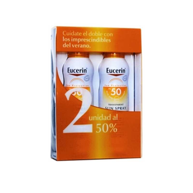 Eucerin Sun Protection Spray SPF50 x2 unidades