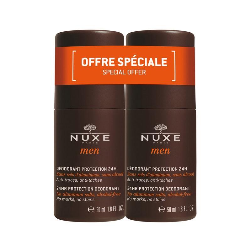 Nuxe Men Desodorante Roll-on 50ml x2 unidades