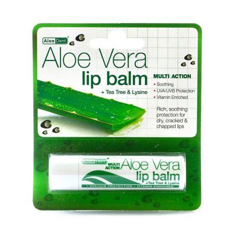AloeDent Lip Balm Bálsamo Labial de Aloe Vera