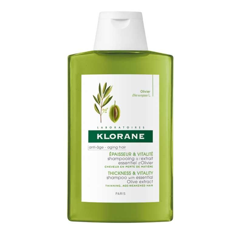 Klorane Champú Extracto de Olivo Cabellos Debilitados 400ml