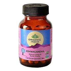Organic India Ashwagandha 90 comprimidos