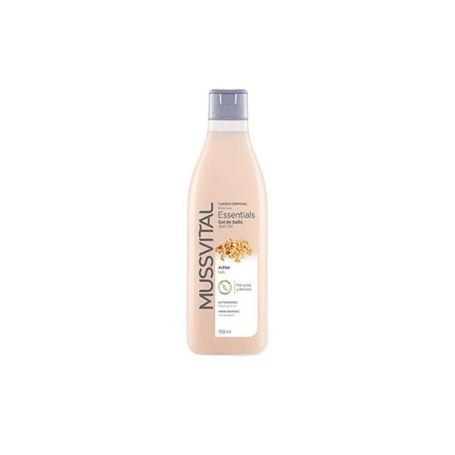 Mussvital Essentials Gel de Baño Avena 750ml