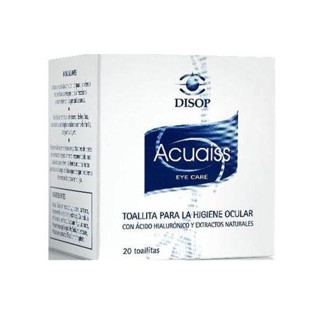 Acuaiss Toallitas Higiene Ocular 20 toallitas