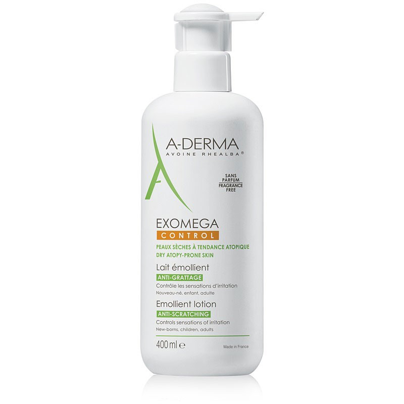 A-Derma Exomega Control Leche Emoliente 400ml