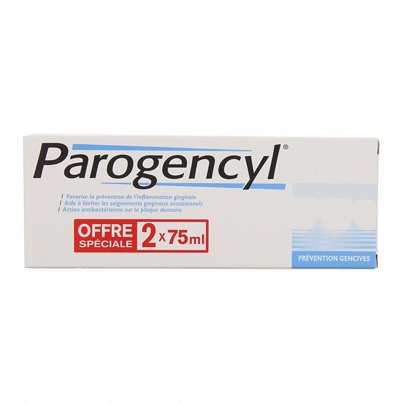 Parogencyl Encías Dentífrico 75ml x2 unidades