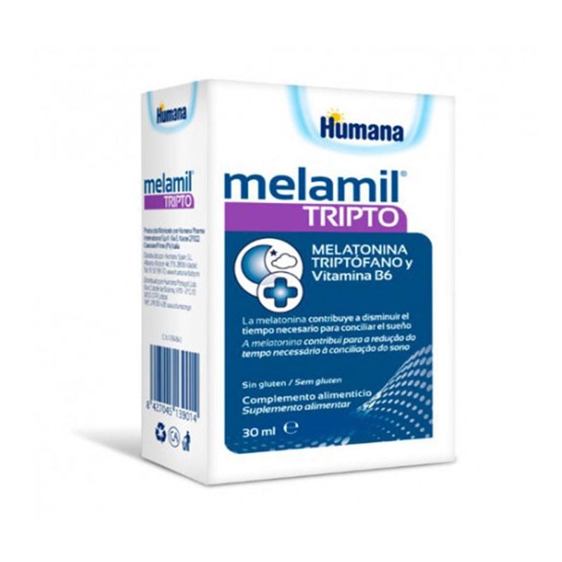 Humana Melamil Tripto Melatonina y Triptófeno 30ml
