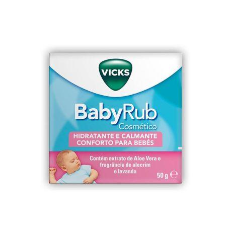 Vicks BabyRub Hidratante y Calmate Bebés 50gr