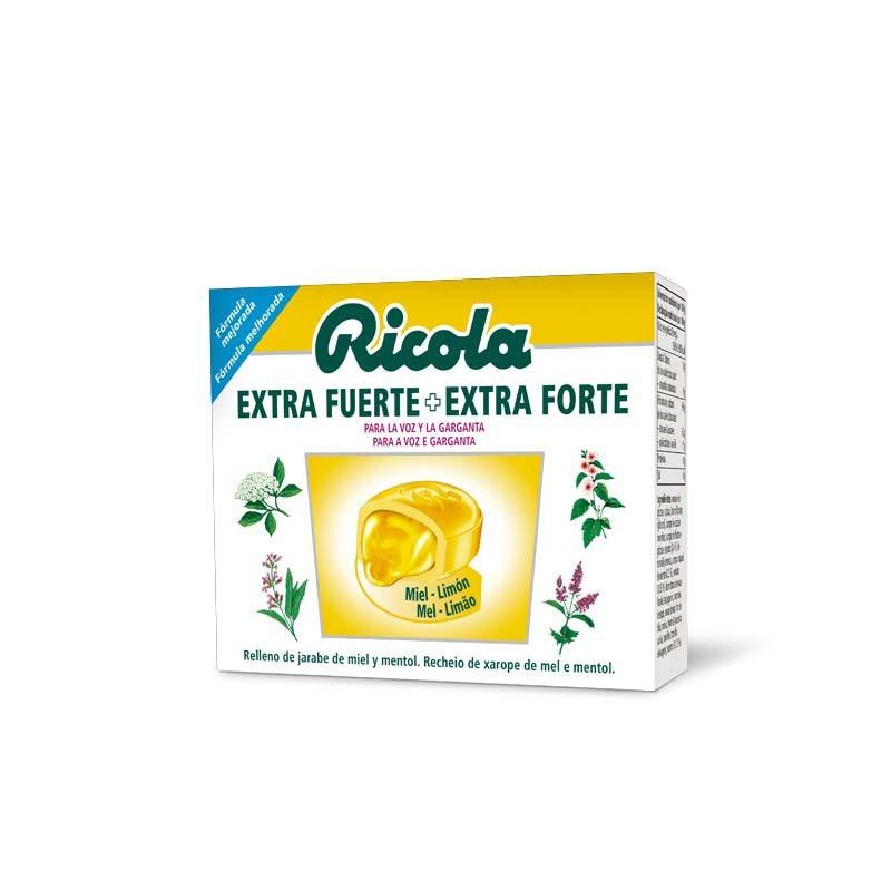 Ricola Extra Fuerte Caramelos Miel y Limón 51gr