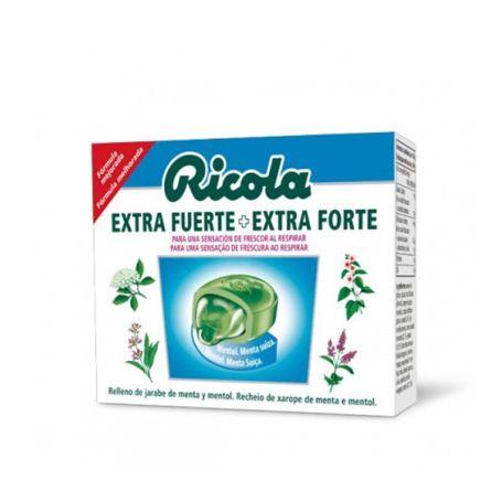 Ricola Caramelos Extra Fuerte con Jarabe de Menta y Mentol 51gr