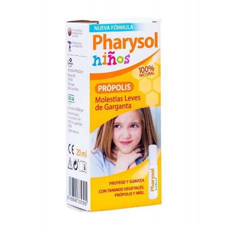 Pharysol Niños Própolis Molestias de Garganta Spray 20ml