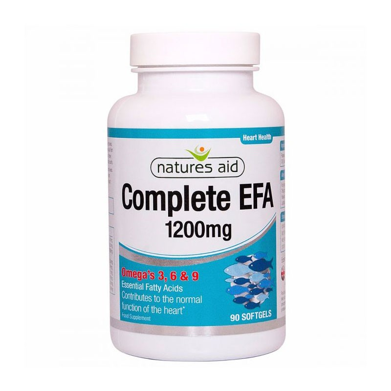 Natures Aid Complete EFA 1200mg 90 comprimidos