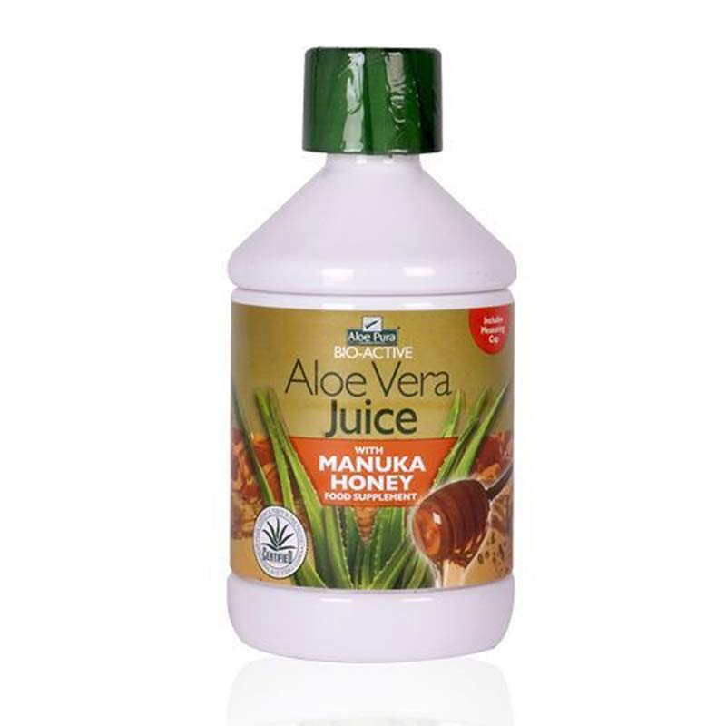 Optima Zumo de Aloe Vera con Miel de Manuka 500ml