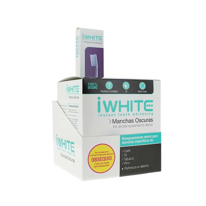 IWhite Manchas Oscuras Kit Blanqueamiento Dental