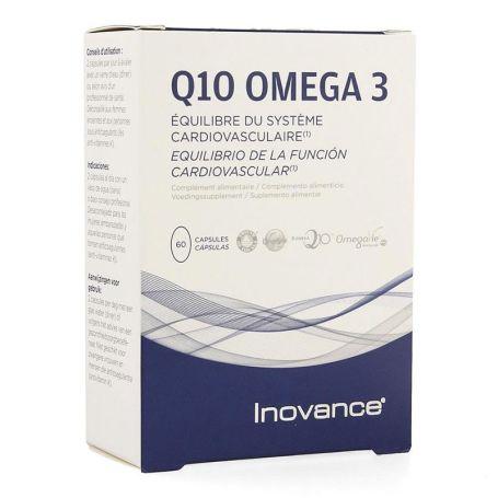 Inovance Q10 Omega-3 60 cápsulas