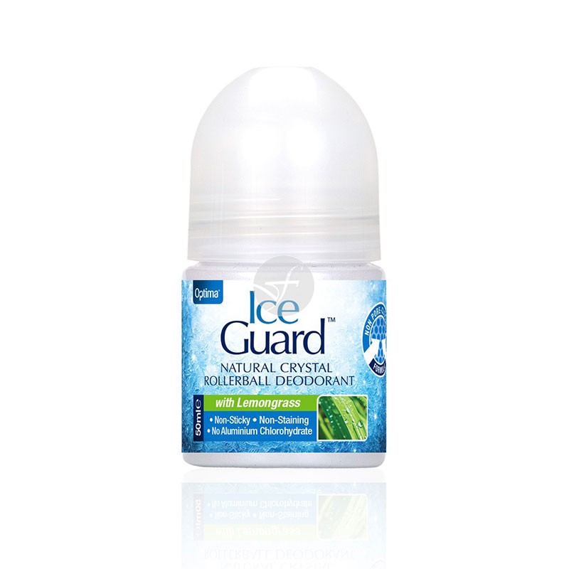 Optima Ice Guard Desodorante Crystal Lemongrass Roll-On 50ml