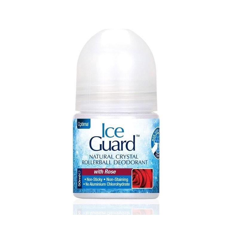 Ice Guard Desodorante Natural Cristal de Rosa Roll-on 50ml
