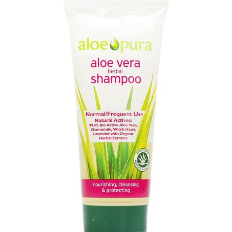 Aloe Pura Champú Herbal BIO Aloe Vera Cabellos Normales 200ml