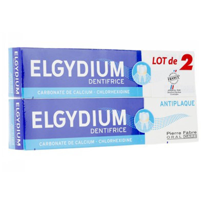 Elgydium Dentífrico Antiplaca 75ml x2 unidades