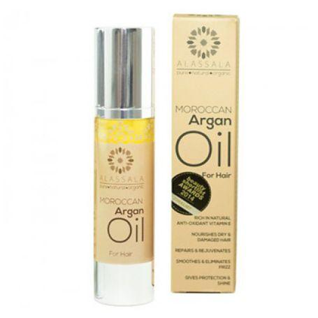 Alassala Moroccan Argán Aceite Capilar 50ml