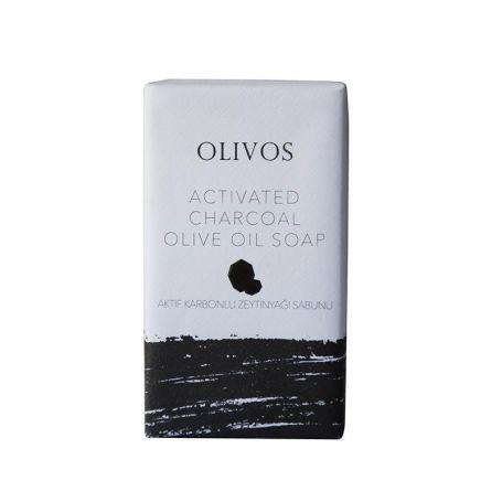 Olivos Charcoal Olive Oil Soap 125gr