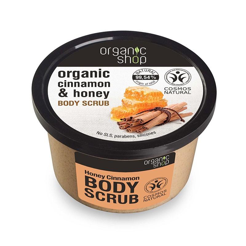 Organic Shop Canela y Miel Body Scrub 250ml
