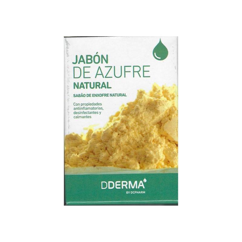 DDerma Jabón de Azufre Natural