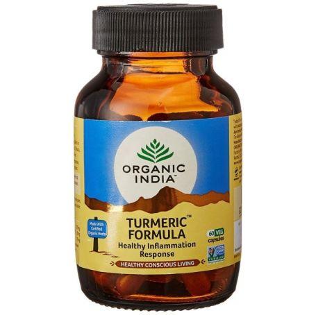 Organic India Turmeric Fórmula 90 cápsulas