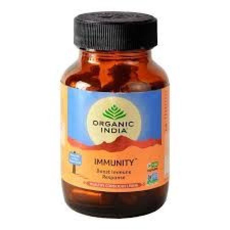 Organic India Immunity 90 cápsulas