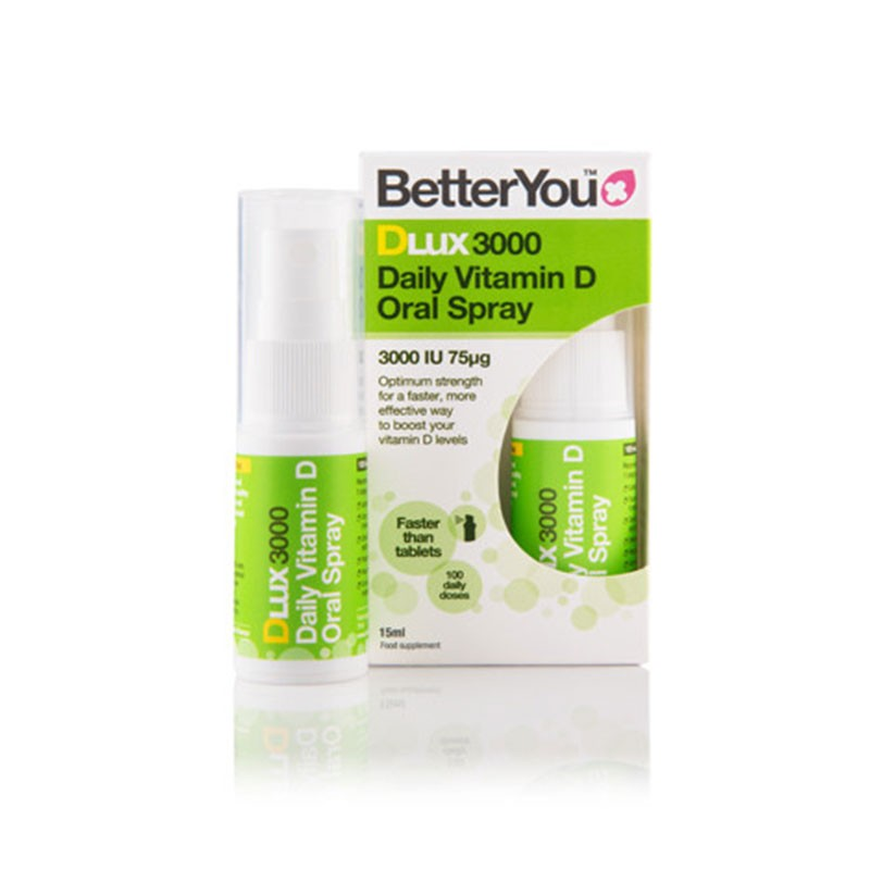 BetterYou Dlux 3000 Vitamina D en Spray 15ml