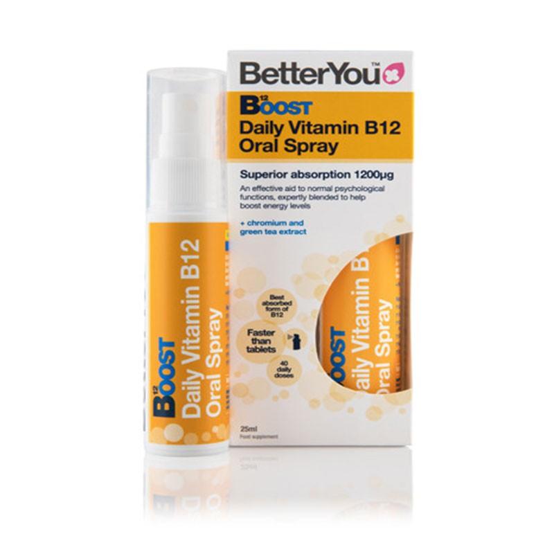 BetterYou Boost Daily Vitamin B12 Spray 25ml