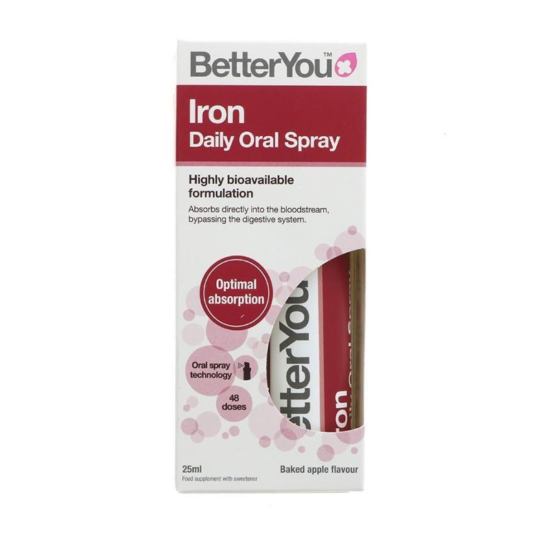 BetterYou Hierro Daily Oral Spray 25ml