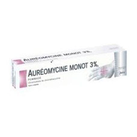 Aureomycine Monot 3% Pomada 15gr