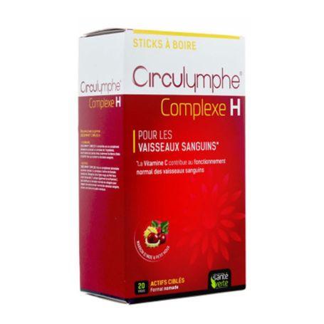 Circumlymphe Complexe H Circulación Sanguínea 20 Sticks