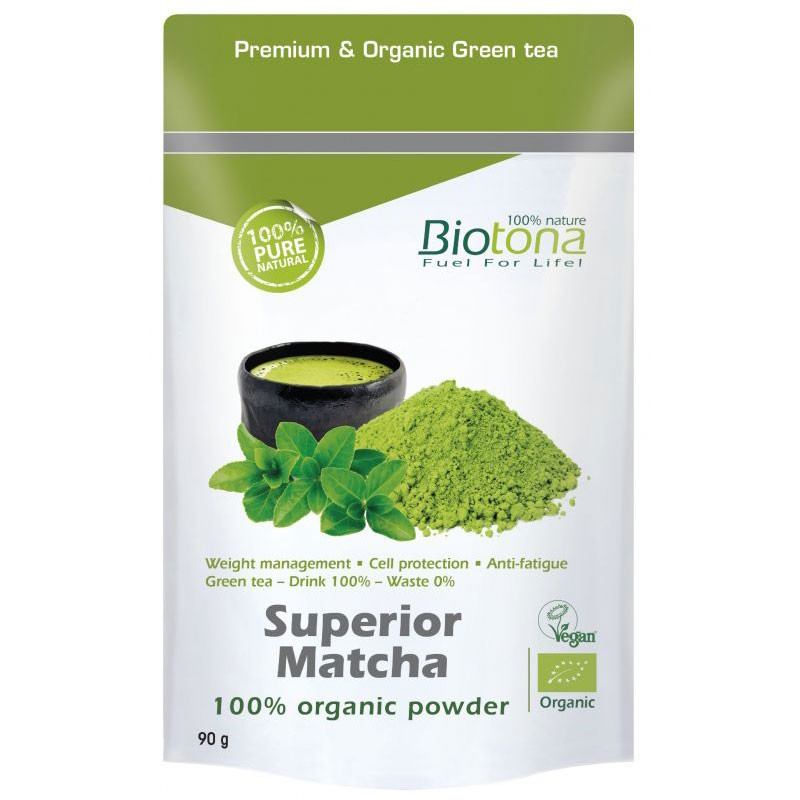 Biotona Superior Matcha Orgánico 90gr