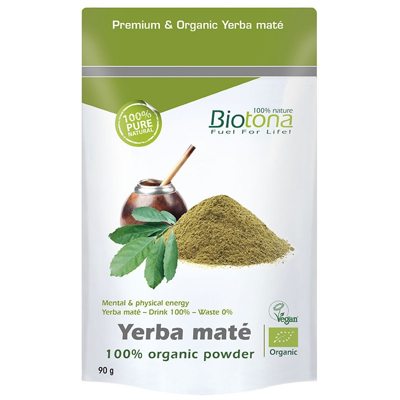 Biotona Yerba Mate Orgánica 90gr