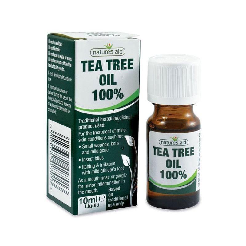 Natures Aid Aceite Esencial de Árbol de Té 10ml
