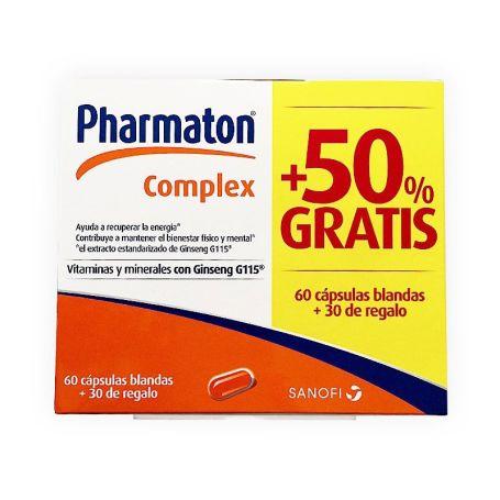 Pharmaton Complex 60 cápsulas + 30 de regalo