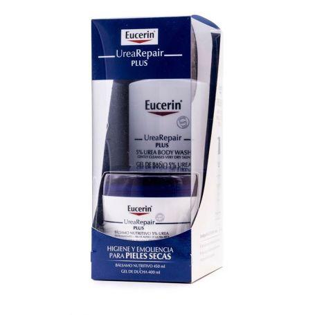 Eucerin Urea Repair Plus Higiene y Loción para Pieles Secas Pack