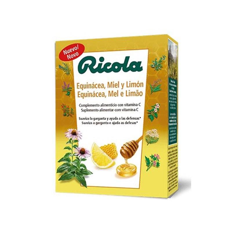 Ricola Caramelos Equinácea, Miel y Limón 50gr