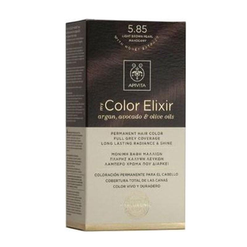 Apivita My Color Elixir 5.85 Light Brown Pearl