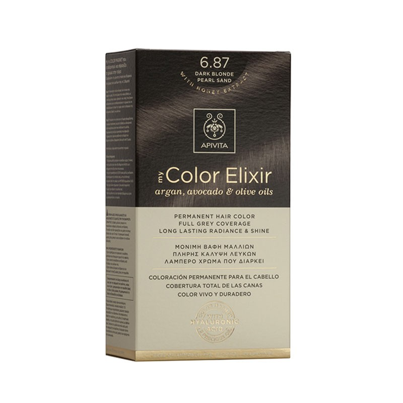 Apivita My Color Elixir 6.87 Dark Blonde